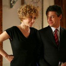 Cecilia Dazzi in una scena della serie televisiva Amiche mie, in onda su Canale 5
