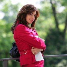 Elena Russo in una scena della serie televisiva Amiche mie, prodotta da Mediaset