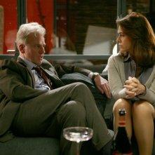 Franco Castellano ed Elena Sofia Ricci in una scena di Amiche mie