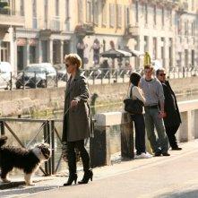 Margherita Buy in una scena della serie televisiva Amiche mie
