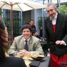 Michele La Ginestra e Daniele Formica in una scena della serie televisiva Amiche mie