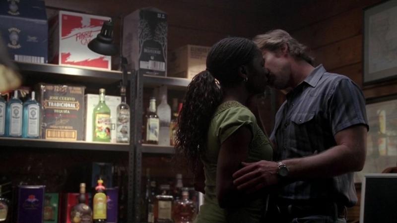 Rutina Wesley E Sam Trammell In Una Scena Dell Episodio Plaisir D Amour Di True Blood 94988