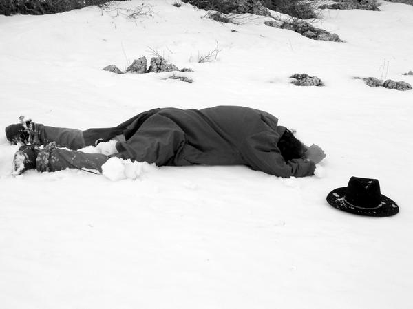 Una Sequenza Del Film Inferno Bianco 94950