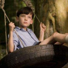 Asa Butterfield è il piccolo Bruno nel film Il bambino con il pigiama a righe
