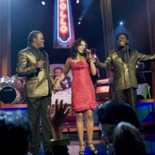 Bernie Mac, Sharon Leal e Samuel L. Jackson in una scena del film Soul Men