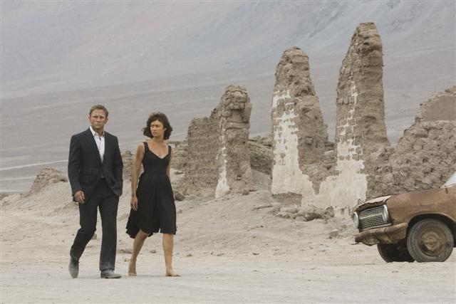 Daniel Craig E Olga Kurylenko In Una Scena Del Film Quantum Of Solace 95090
