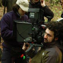 Federico Annicchiarico e Francesco Amato sul set.