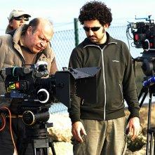 Federico Annicchiarico e il regista Claudio Bonivento