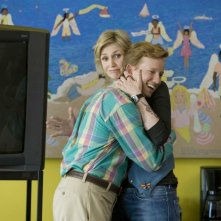 Jane Lynch e A.D. Miles in una scena del film Role Models