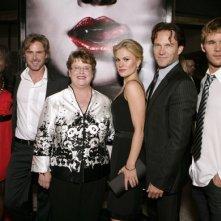 Rutina Wesley, Sam Trammell, Lois Smith, Anna Paquin, Stephen Moyer e Ryan Kwanten alla premiere della prima stagione di True Blood