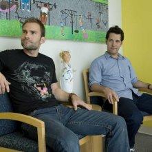 Seann William Scott e Paul Rudd in un'immagine del film Role Models