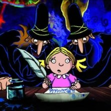 Un'immagine del cartoon Tiffany e i tre briganti