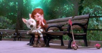 Un'immagine del film d'animazione Bolt prodotto dalla Disney