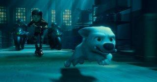 Un'immagine di Bolt, il super-cane della Disney