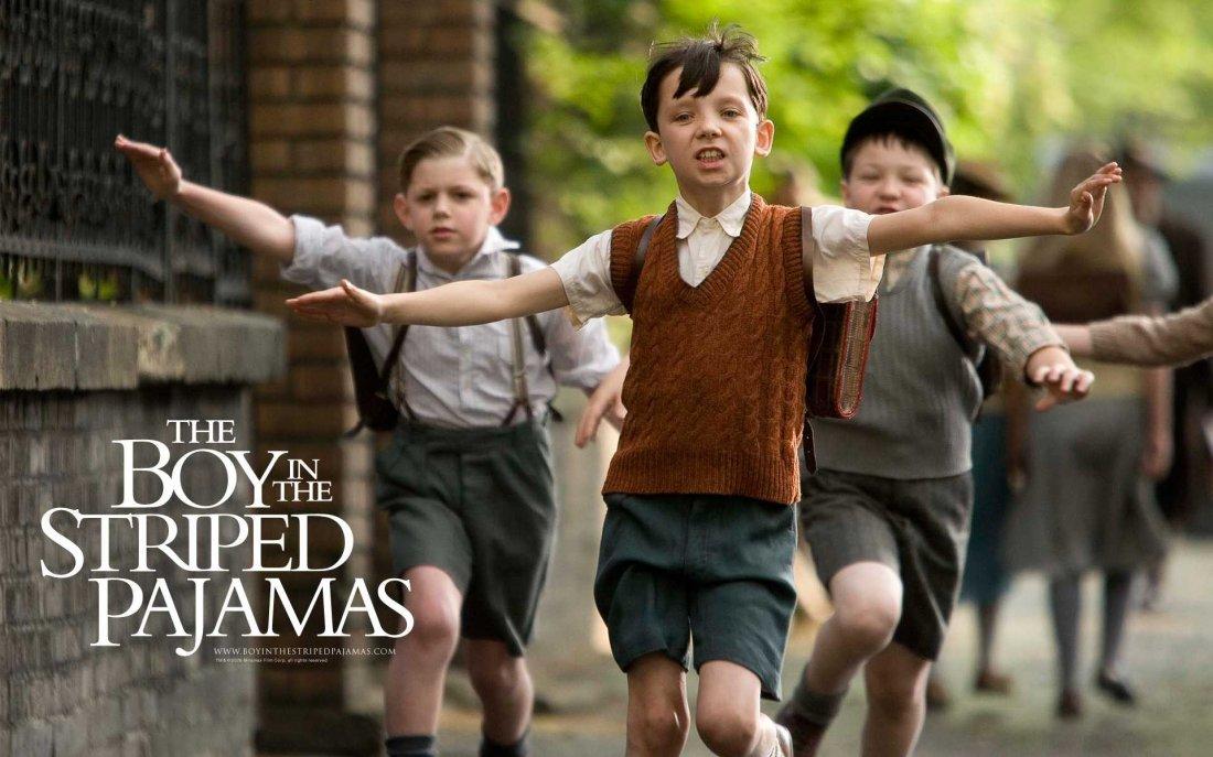 Un Wallpaper Del Film Il Bambino Con Il Pigiama A Righe Con Asa Butterfield 95205