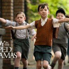 Un wallpaper del film Il bambino con il pigiama a righe con Asa Butterfield