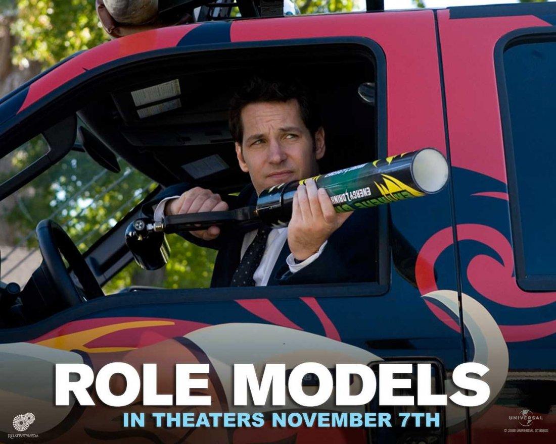 Un Wallpaper Del Film Role Models Con Paul Rudd 95186