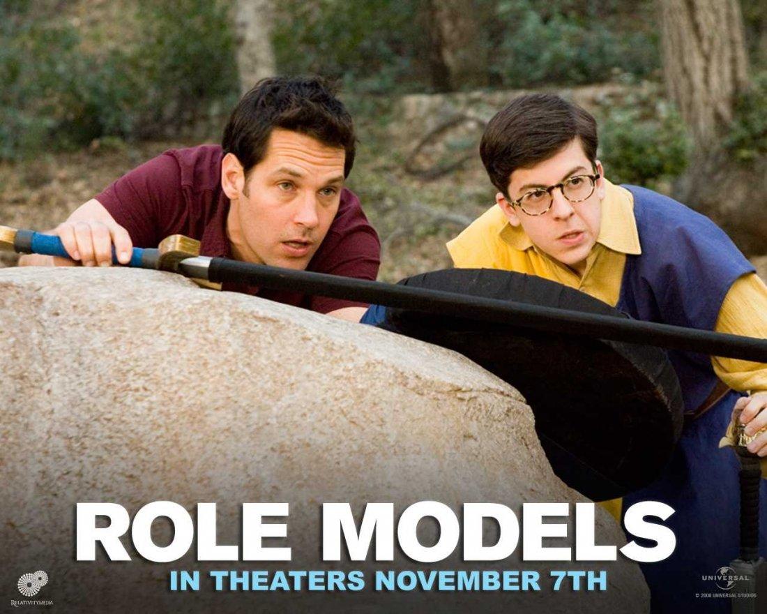 Un Wallpaper Del Film Role Models Con Paul Rudd E Christopher Mintz Plasse 95191