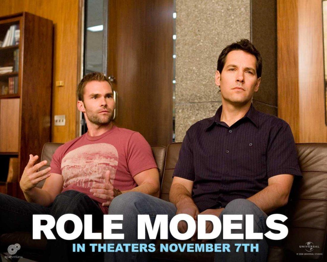 Un Wallpaper Del Film Role Models Con Seann William Scott E Paul Rudd 95187
