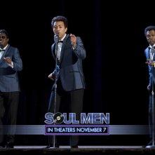 Un wallpaper del film Soul Men con Bernie Mac, John Legend e Samuel L. Jackson