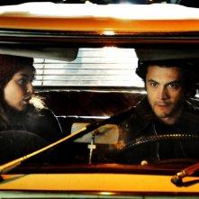 Alessandra Mastronardi e Vinicio Marchioni nel quarto episodio di Romanzo Criminale - La serie