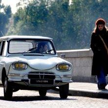 Alessandra Mastronardi  in una scena del quarto episodio di Romanzo Criminale - La serie