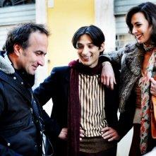 Daniela Virgilio e Stefano Sollima sul set di Romanzo Criminale - La serie