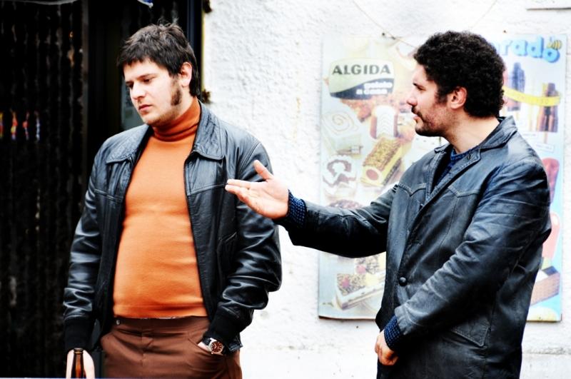 Edoardo Pesce E Lorenzo Renzi In Una Scena Di Gruppo Del Terzo Episodio Di Romanzo Criminale La Serie 95258