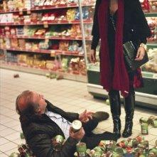 Jerry Calà e Tosca D'Aquino in un'immagine della commedia Torno a vivere da solo