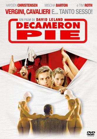 La Copertina Di Decameron Pie Dvd 95460
