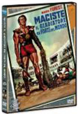 La Copertina Di Maciste Il Gladiatore Piu Forte Del Mondo Dvd 95433