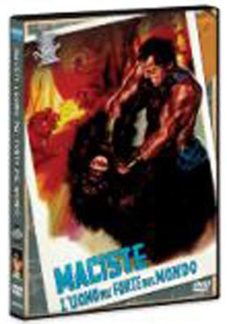 La Copertina Di Maciste L Eroe Piu Grande Del Mondo Dvd 95430