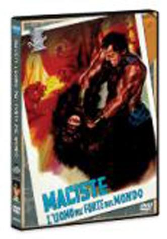 La Copertina Di Maciste L Uomo Piu Forte Del Mondo Dvd 95437
