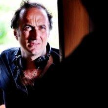 Stefano Sollima sul set della fiction televisiva ispirata al film Romanzo Criminale