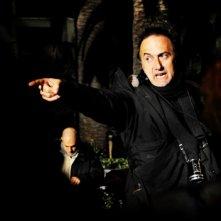 Stefano Sollima sul set della fiction tv ispirata al film Romanzo Criminale