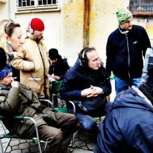 Stefano Sollima sul set della serie televisiva ispirata a Romanzo Criminale