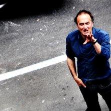 Stefano Sollima sul set di Romanzo Criminale - La serie