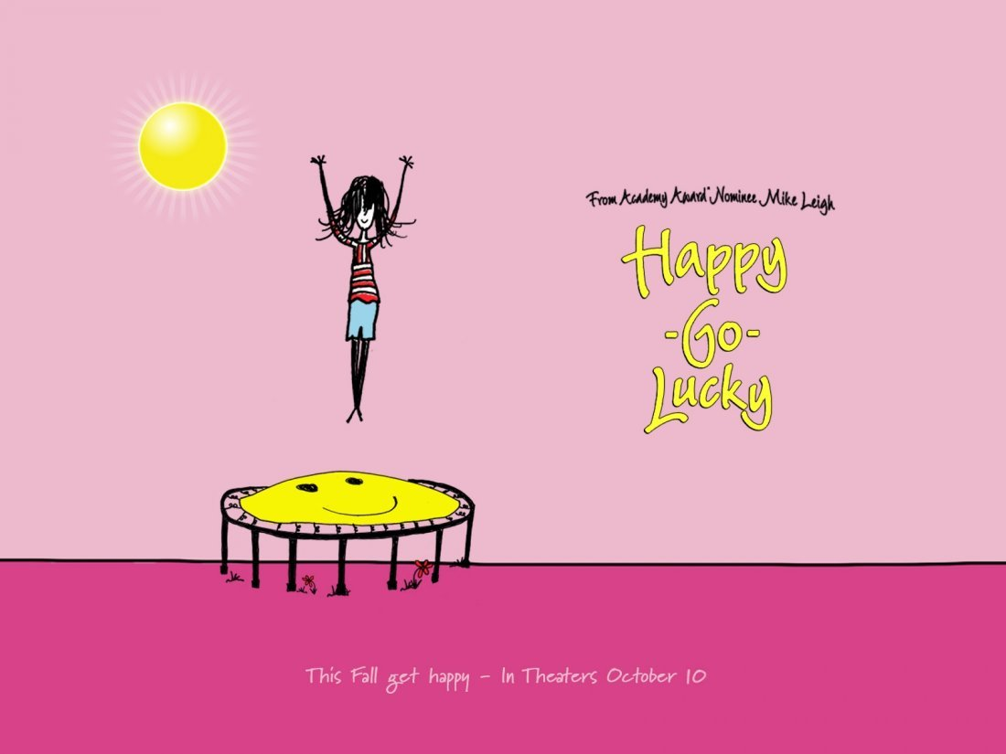 Un Wallpaper Del Film Happy Go Lucky La Felicita Porta Fortuna 95434