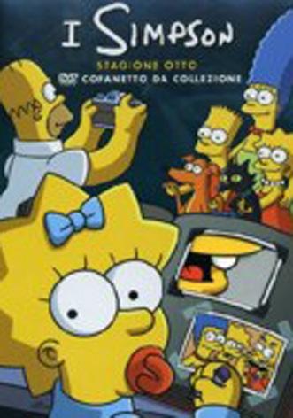 La Copertina Di The Simpsons Stagione 8 Dvd 95502