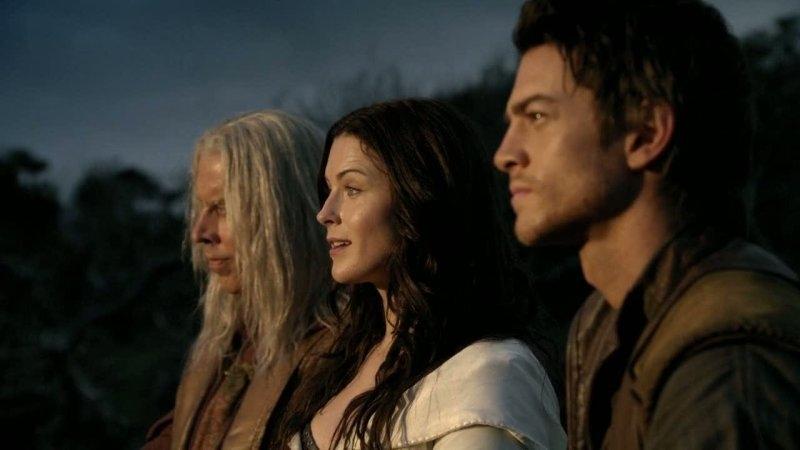 Bruce Spence Bridget Regan E Craig Horner Nell Episodio Destiny Della Serie Legend Of The Seeker 95551
