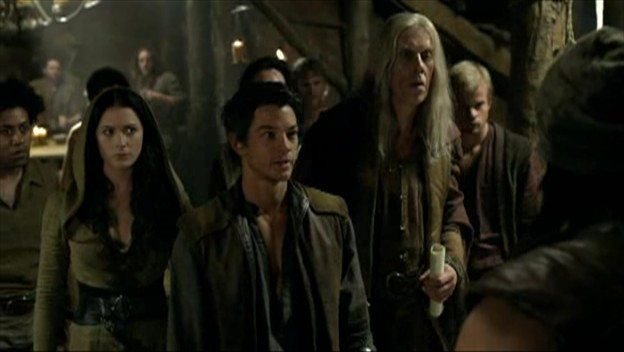 Bruce Spence Craig Horner E Bridget Regan Nell Episodio Bounty Della Serie Tv Legend Of The Seeker 95668
