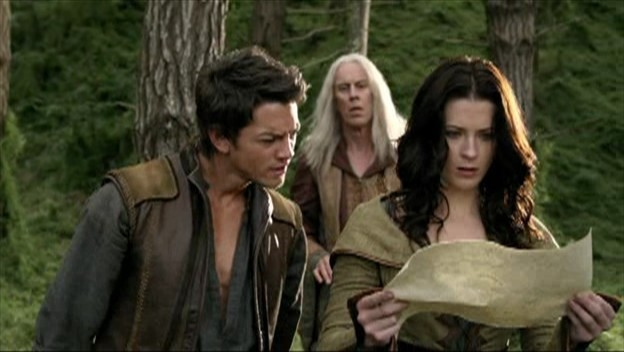 Craig Horner E Bridget Regan Alle Loro Spalle Bruce Spence Nell Episodio Bounty Della Serie Tv Legend Of The Seeker 95662
