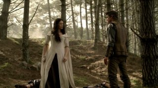 Craig Horner e Bridget Regan nella serie tv Legend of the Seeker, episodio: Prophecy
