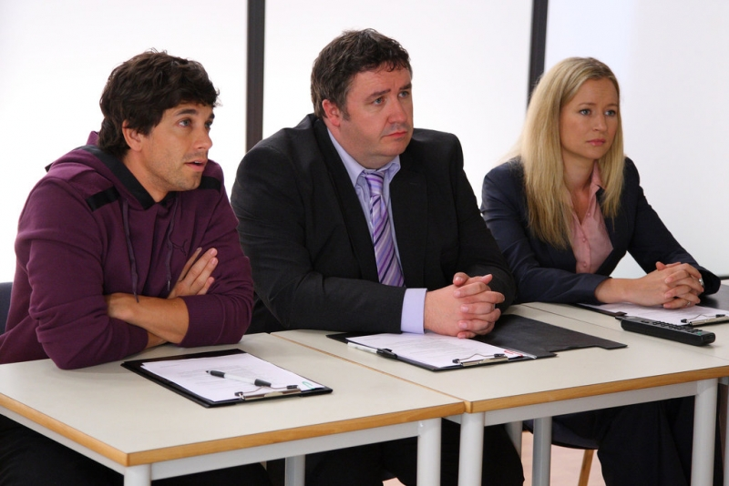 I Professori Della Britannia High Adam Garcia Mark Benton E Lorraine Pilkington 95725