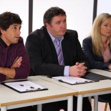 I professori della Britannia High: Adam Garcia, Mark Benton e Lorraine Pilkington