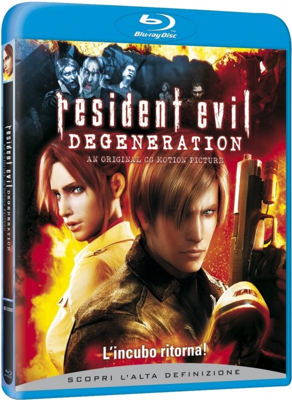 La Copertina Di Resident Evil Degeneration Blu Ray 95639