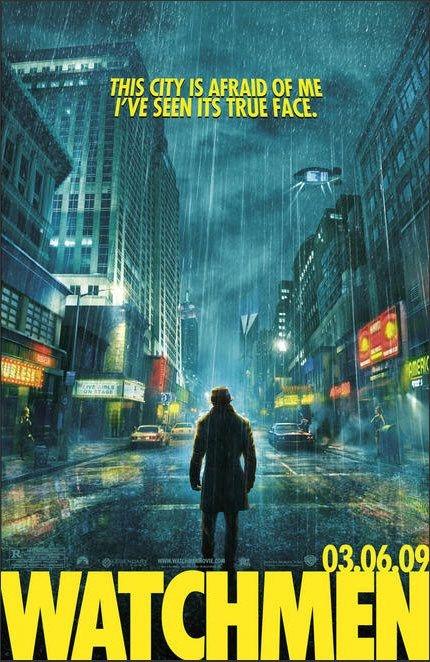 Nuovo Poster Per Watchmen Di Zach Snyder 95574