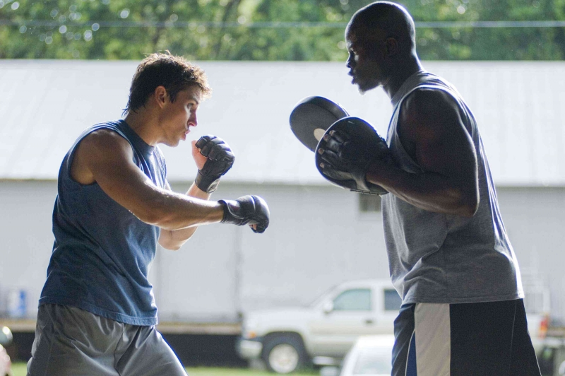 Sean Faris E Djimon Hounsou In Un Immagine Del Film Never Back Down 95684