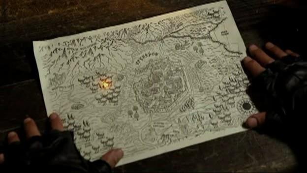 Una Mappa Magica Nell Episodio Bounty Della Serie Legend Of The Seeker 95652