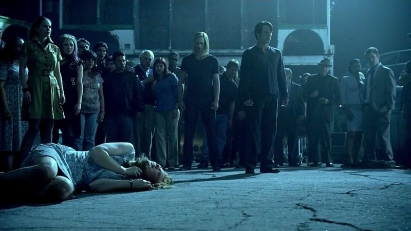 Alexander Skarsgard E Stephen Moyer In Un Immagine Dell Episodio I Don T Wanna Know Della Serie True Blood 95964